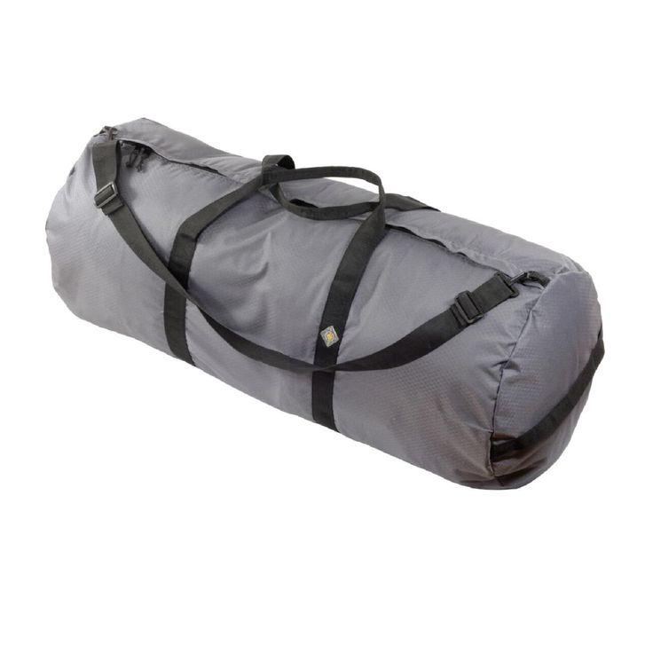 North Star Sport Duffle Bag 18in Diam 42in L - Steel Gray