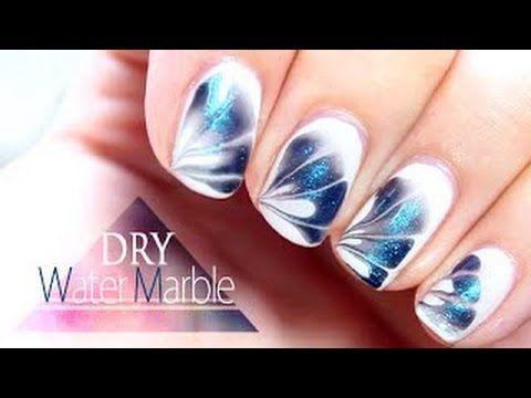 Nail art semplicissima ma d' effetto - YouTube