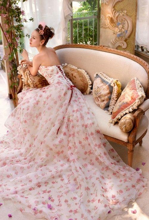 Perfecto Vestidos De Novia Lazaro Festooning - Colección del Vestido ...