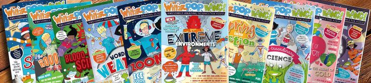 47% Off Whizz Pop Bang Science Magazine Subscription for Kids