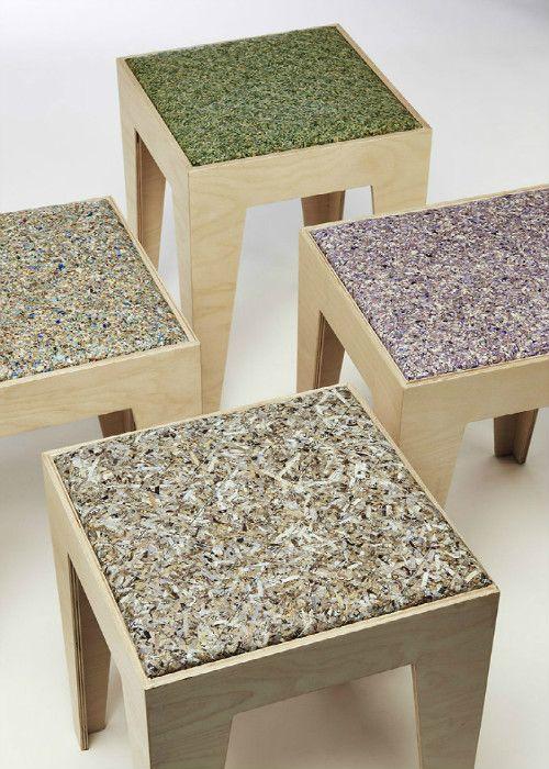 Планета Земля и Человек: Эффектная утилизация отходов: мебель из настоящих ...