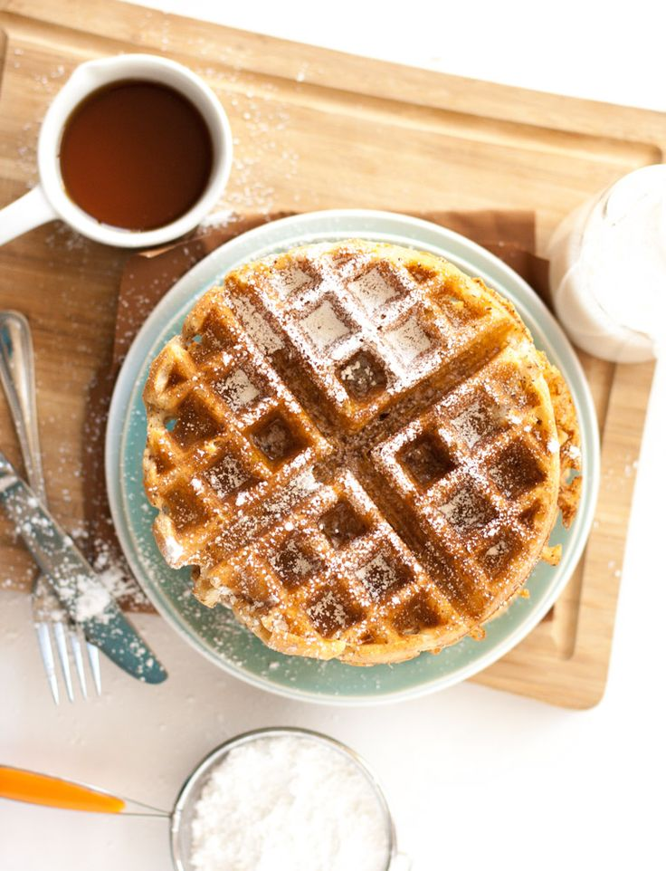 Flax Seed Belgian Waffles | My California Roots