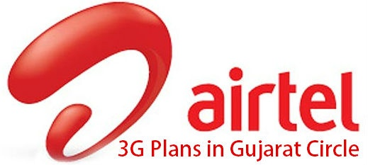 Airtel 3G Plans in Gujarat for Dongles and Smartphones 2013