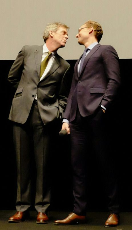 Hugh Laurie and Tom Hiddleston   The Night Manager