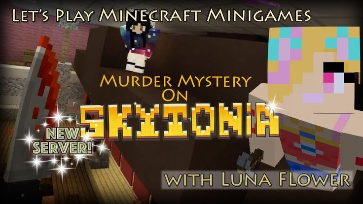 Let's Play Minecraft Minigames - NEW Murder maps on the NEW Skytonia Server