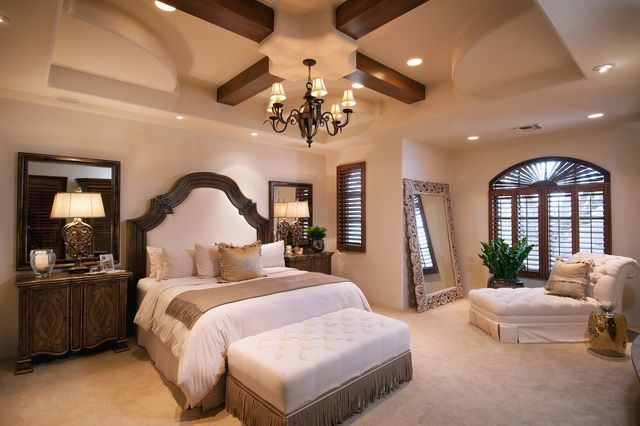 Tuscan-Style Bedrooms Done Right: Go Warm on Windows, Walls and Floors