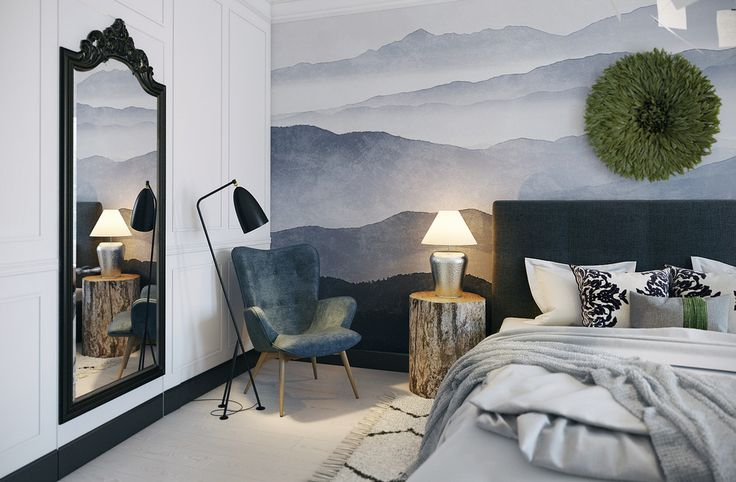 Скандинавские сны - Лучший дизайн спальни | PINWIN - конкурсы для архитекторов, дизайнеров, декораторов