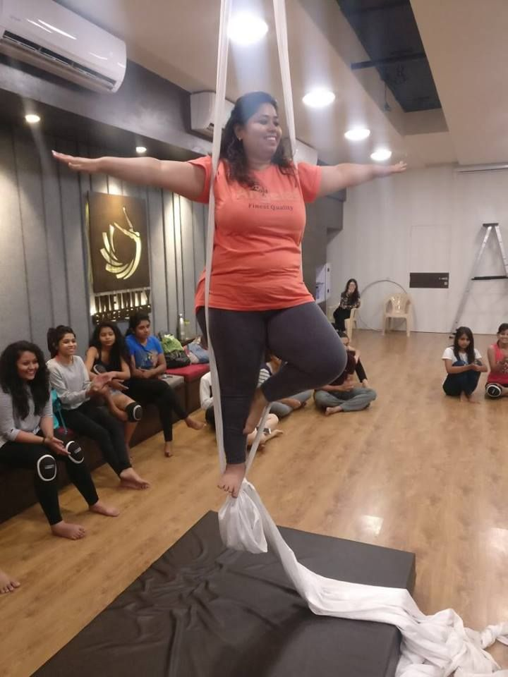 Aerial Dance workshop by Zakwana Bagban. Venue: Infinity Dance Studio Ahmedabad For any inquiry call Zakwana on 7016928707 / 7016857436 #Workshop #DanceWorkShop #AerialDanceWorkshop #ZakwanaBagban #InfinityDanceStudio #CityShorAhmedabad