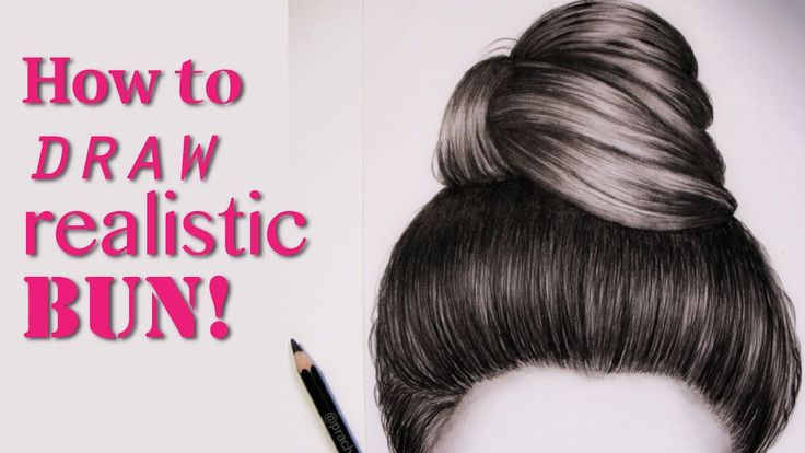 how to draw hair on a girl