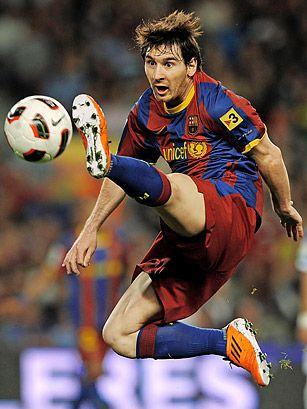 Lionel Messi, superestrella de fútbol