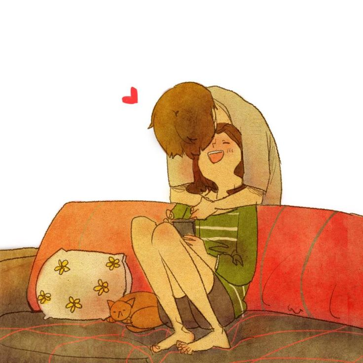 puuung-love-is-illustration-art-book-cosmic-orgasm-lovers-daily-life-small-things-kiss-cute