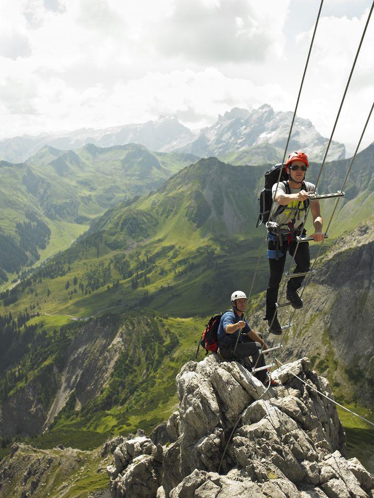 Saulakopf - einer der schönsten Klettersteige in Vorarlberg. #klettersteig #saulakopf #montafon #visitvorarlberg #lünersee #panorama #wow (c) Montafon Tourismus GmbH, Alex Kaiser
