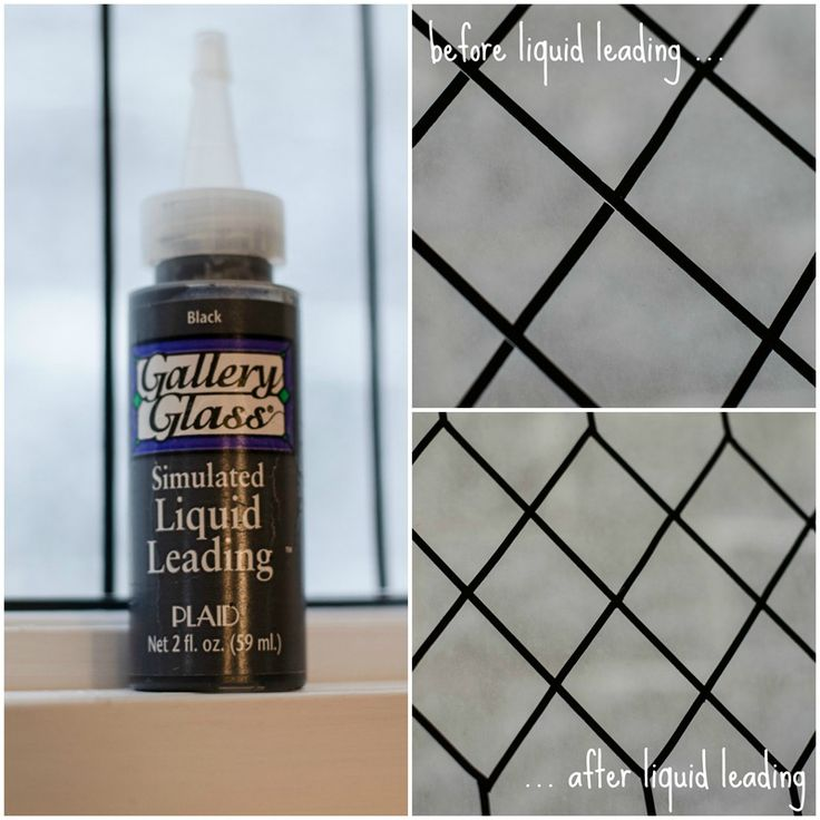 """Painting On Glass Window Panes 