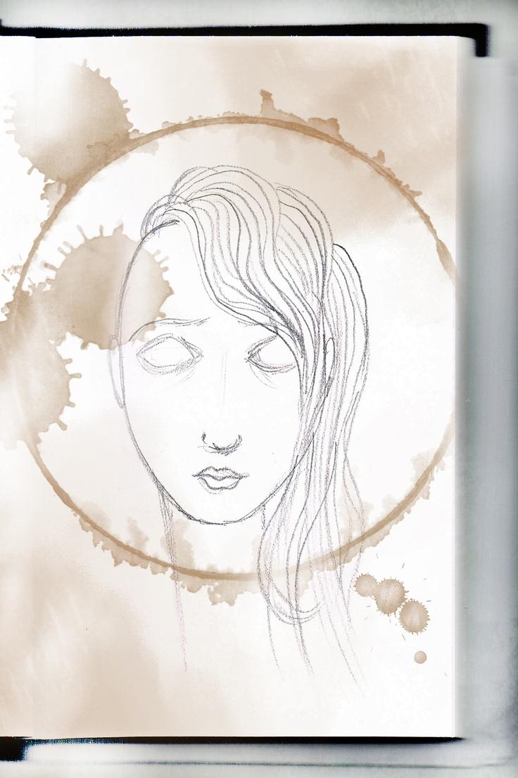 Maria Undercut (sketch) - São Marias project - 2012, by Maria Oliveira.