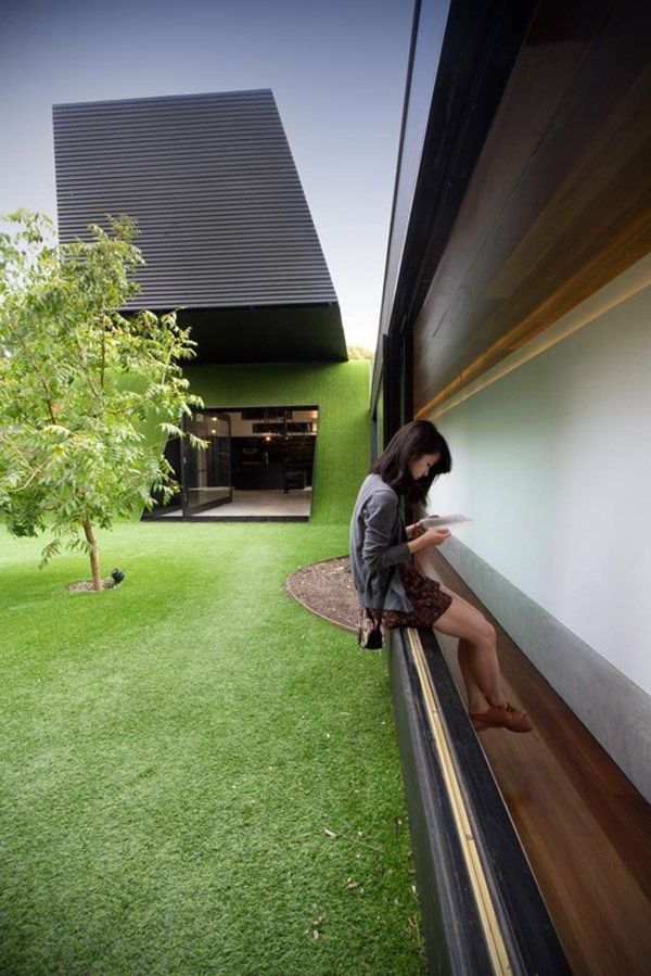 Cool Design, Hill House In Melbourne, Australia By Andrew Maynard  Architects April 2012   Posted In Architecture, Contemporary Home,  Eco Friendly Home ...