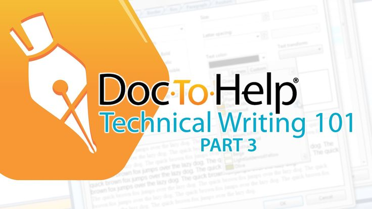 technical english writing