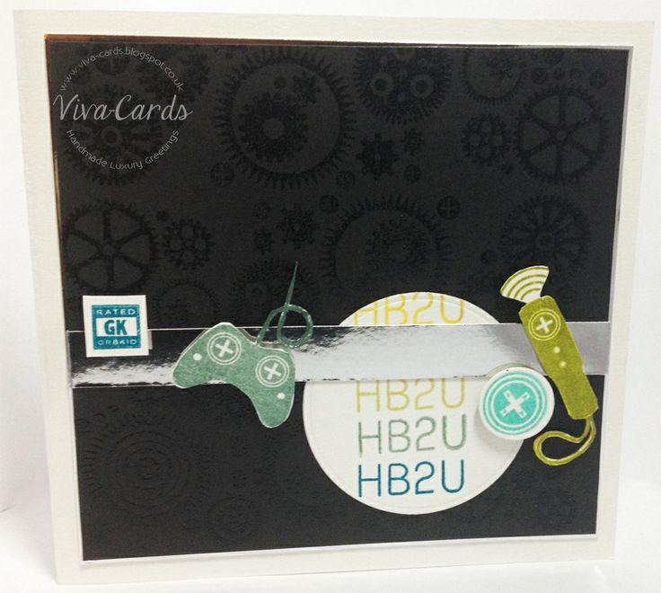 Handmade card - Playstation