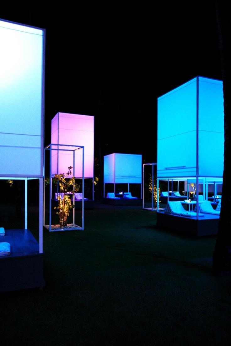 open the full-size image in a new windowModern Gardens, Ingfah Restaurants, Integration Fields, Interiors Design, Restaurants Design, Architecture, Furniture Design, Khao Lak, Lights Boxes