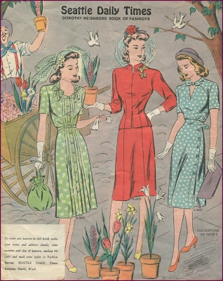Spring, 1940s, Seattle Daily Times