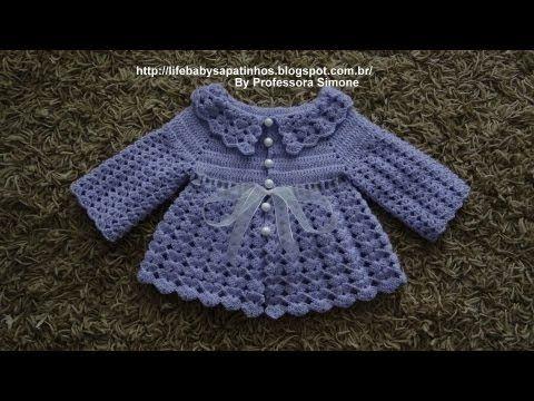 Cute!,! Casaquinho em Crochê Parte -1 http://m.youtube.com/watch/?v=H5e2GIhwUqc_uri=%2Fwatch%2F%3Fv%3DH5e2GIhwUqc
