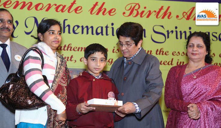 National Champion awarded by Dr Kiran Bedi