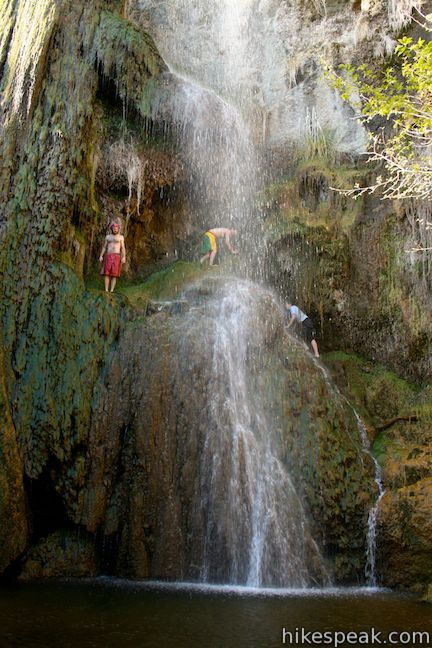 Escondido Falls in the Santa Monica Mountains, Escondido Canyon Park, Malibu, Los Angeles, California