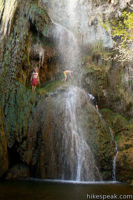 Escondido Falls in the Santa Monica Mountains, Escondido Canyon Park, Malibu, Los Angeles, California