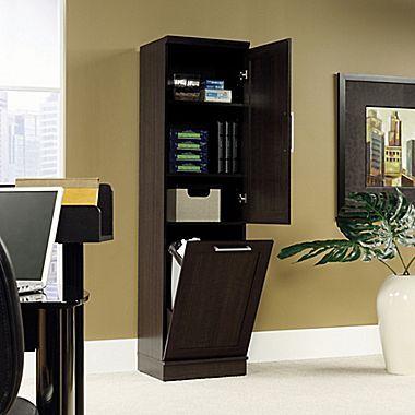 Sauder Home Plus Storage Cabinet, Dakota Oak