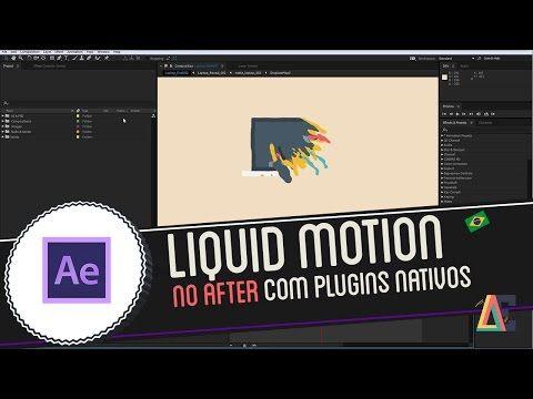 Tutorial de Adobe After Effects: Liquid Motion Effect - YouTube