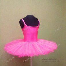 Балетный костюм с пачкой на основе стального обруча