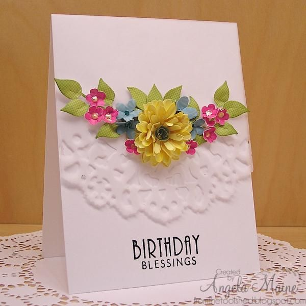 SC531 & CC521 Birthday Blessings by Arizona Maine - Cards and Paper Crafts at Splitcoaststampers