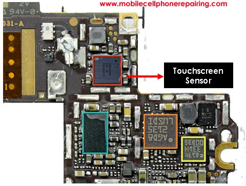 iphone 5 touch screen not working from ST18i using
