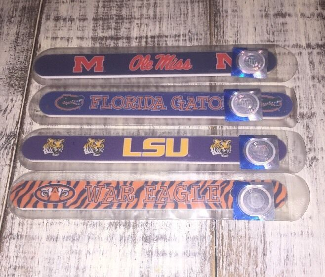 Collegiate Football Nail File Ole Miss Florida Gators AU War Eagle LSU   | eBay