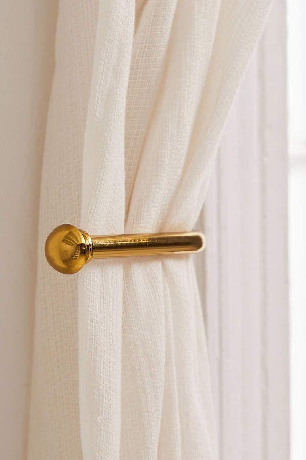 Crushed Velvet Window Curtain Curtain Tie Backs Tie Backs