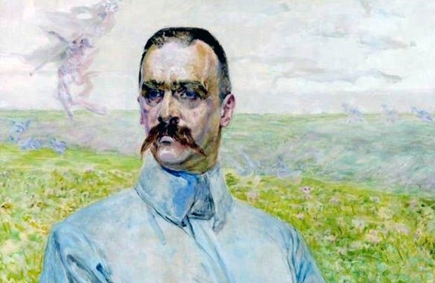 Brygadier Józef Piłsudski, Jacek Malczewski, 1916, olej, deska dębowa, 58x73,5, Muzeum Narodowe w Warszawie
