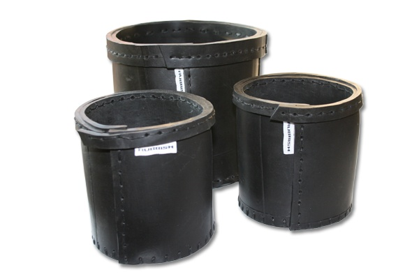 Basket large and small - Rubbish - reused rubber