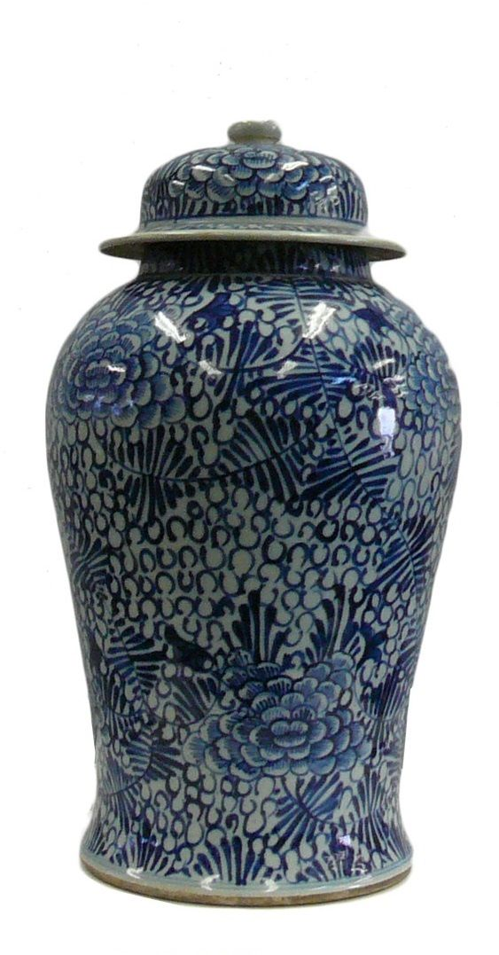 94 Best Blue And White Jars Images On Pinterest