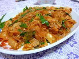 ★豚キムチ春雨★簡単早業cooking