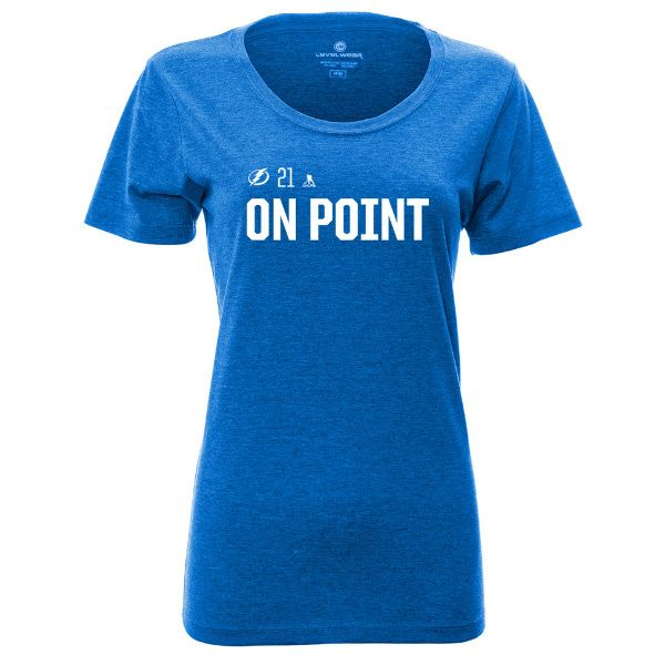 Tampa Bay Sports / Tampa Bay Lightning Women's On Point Social Media Inspired Tee, Size S ($29.99)