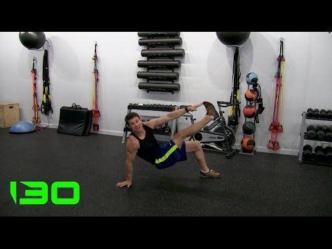 Bodyweight Strength Training Workout #130 - YouTube