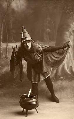 Stirring the cauldron: Vintage Halloween, Halloween Witches, Halloween Costumes, Vintagehalloween, Hallows Eve, Halloween Vintage, Photo, Vintage Witch, Halloween Ephemera