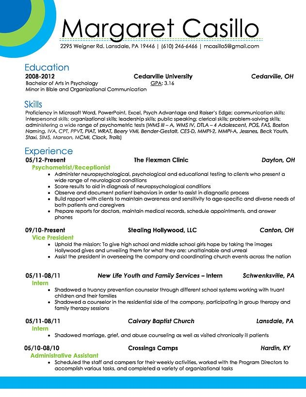 Assistant Psychologist Sample Resume Resume Renovationsrebekah Resumerenovatio On Pinterest