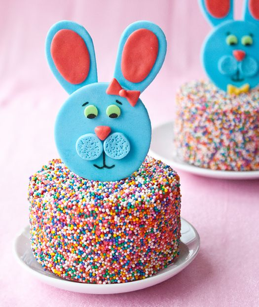fondant easter bunny toppers how to