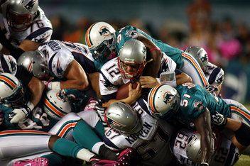 Patriots vs Dolphins. December 2013 in Miami! So much fun.
