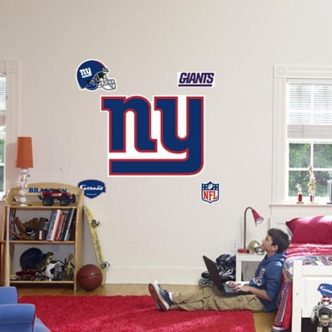 New York Giants Logo Wall Decal