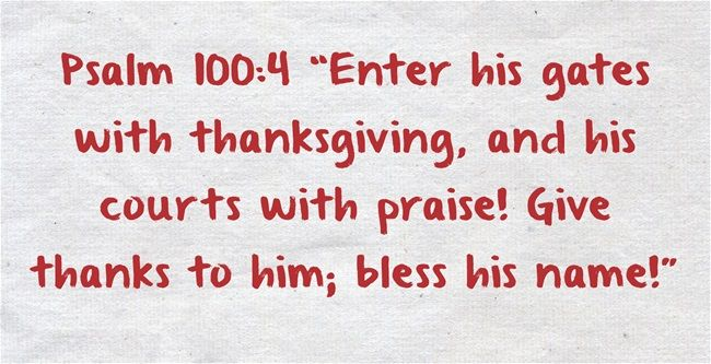 Top 7 Bible Verses on Thankfulness