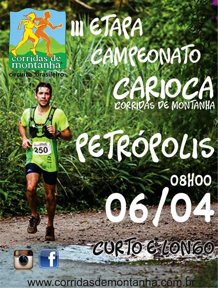 TURISMO ESPORTIVO E DE AVENTURA: CORRIDAS DE MONTANHA / CAMPEONATO CARIOCA 2014