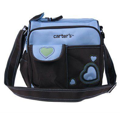 FREE SHIPPING! Ecosusi Floral / Heart Pattern Satchel Messenger Diaper Bag