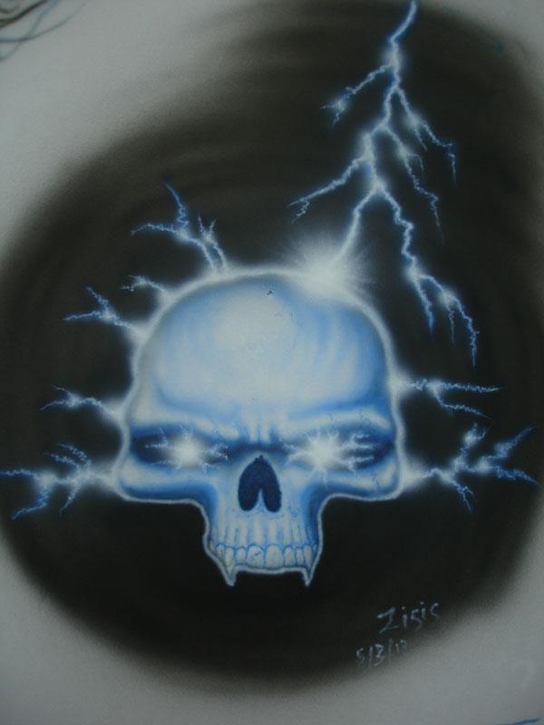 """Thunderstruck"" Skull...!!!"