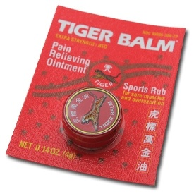 Tiger Balm now available from http://www.karatemart.com